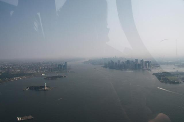 New York - View from Helicopter