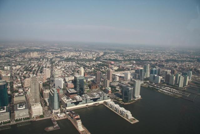 New York - New Jersey from Helicopter