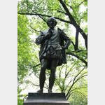New York - Shakespeare Statue in Central Park