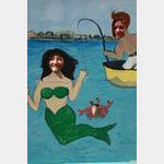 Provincetown - Mermaid Laura & Fisherman Wilbert