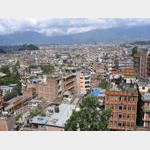 Kathmandu - View from Hotel Nature