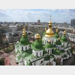 Kiev - St Sophia's Cathedral from Bell Tower