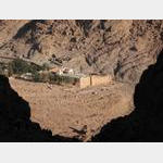 Mt Sinai - St Katherine's Monastery from Steps of Repentance