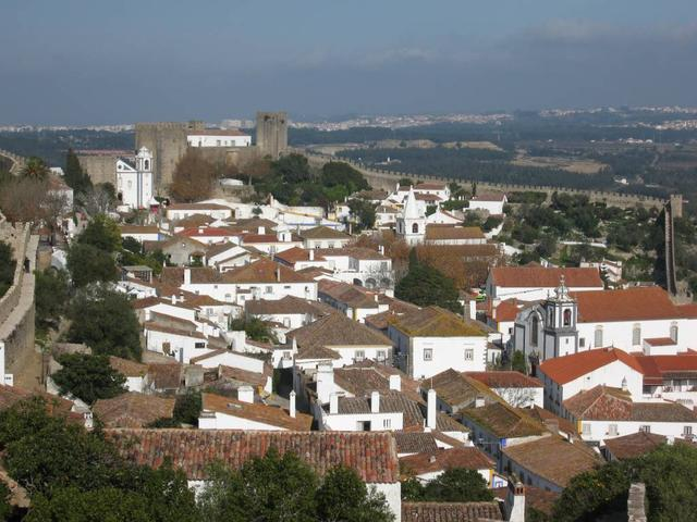 Óbidos - Village from Wall