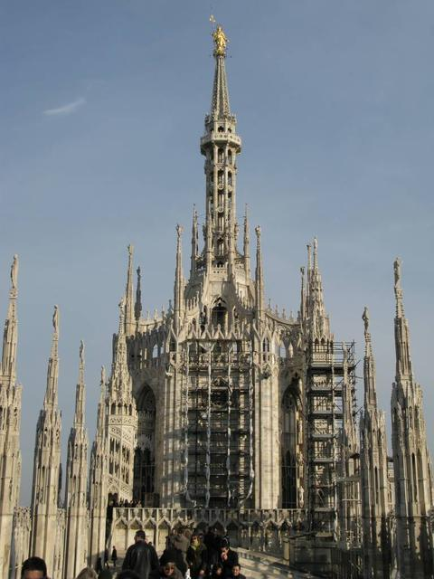 Milan - Cathedral from Roof